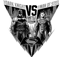 The Dark Knight VS The Man of Steel by AvatarSkyBison