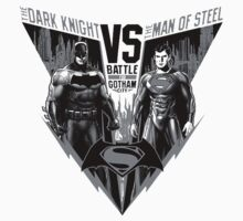 The Dark Knight VS The Man of Steel T-Shirt