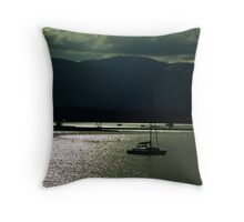 Evening at Comox Throw Pillow
