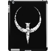 Quake - White iPad Case/Skin