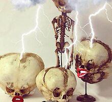 Striking Skulls by Slapstic Inks