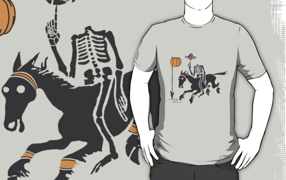 Headless Horseman Hoops by huliodoyle