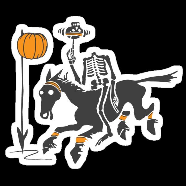 Headless Horseman Hoops by huliodoyle