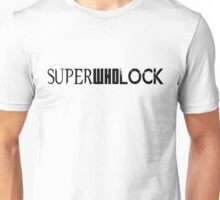 SuperWhoLock Logo Unisex T-Shirt