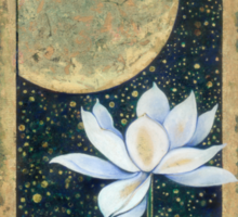 """""""Lord of Light & Darkness"""" from the series """"In the Lotus Land"""" Sticker"""