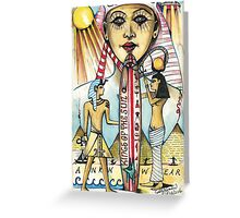 Ancient Surf Culture  ( Kings Of The Sun ) Greeting Card