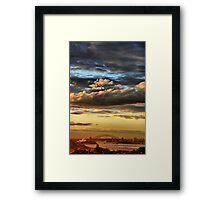 Clouds XI Framed Print