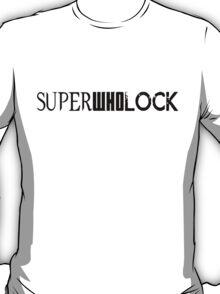 SuperWhoLock Logo T-Shirt