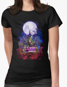 Majora's Mask 3D  Womens Fitted T-Shirt