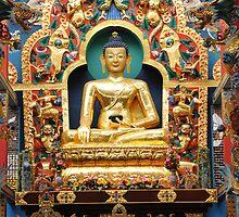 Buddha. India by AravindTeki