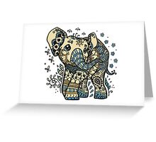 Mandala elephant Greeting Card