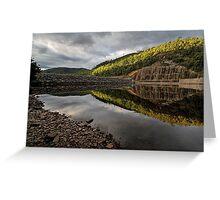 Lake Parangana Dam Greeting Card