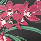 Orchid Bouquet by Laura Dhir