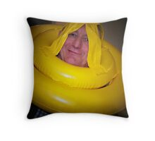 Comedy Grandpa Throw Pillow