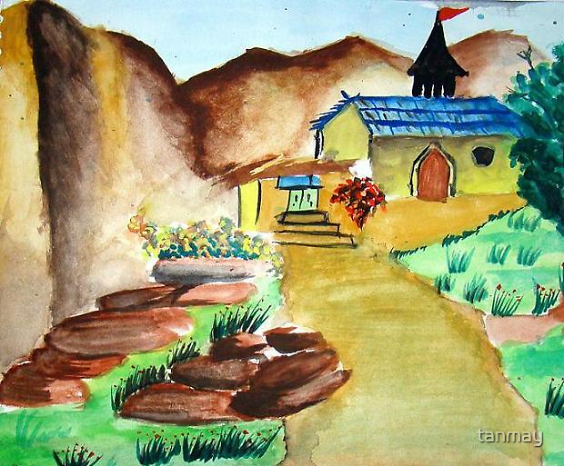 Landscape by tanmay