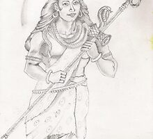 Lord Shiva by tanmay