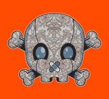 Damask Skull Kids Clothes