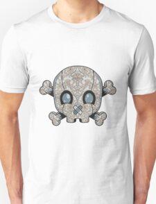 Damask Skull Unisex T-Shirt
