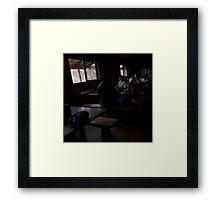 Walkers Cabin Framed Print
