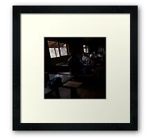 Walkers Cabin Framed Print