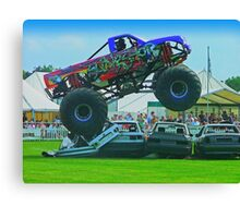 Monster Truck Madness - Surrey County Show - Guildford Canvas Print