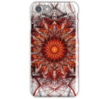 Scorching Sun - Abstract Fractal Artwork iPhone Case/Skin