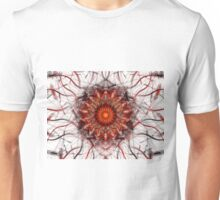 Scorching Sun - Abstract Fractal Artwork Unisex T-Shirt