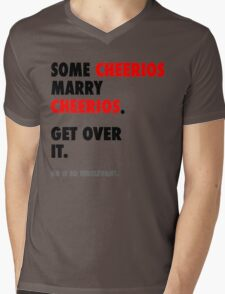 Glee - Some Cheerios Marry Cheerios Mens V-Neck T-Shirt