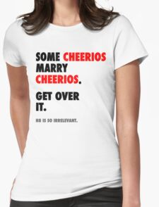 Glee - Some Cheerios Marry Cheerios Womens Fitted T-Shirt