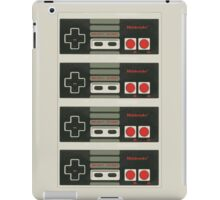4 Controllers 4 Players - NES iPad Case/Skin