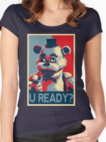 U Ready? Women's Fitted Scoop T-Shirt