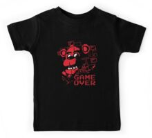 Five Nights At Freddy's Pizzeria Game Over Kids Tee