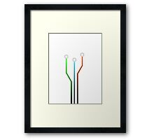 Connect Framed Print
