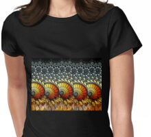 Billow - Abstract Fractal Artwork Womens Fitted T-Shirt