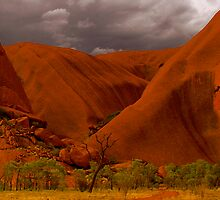 Uluru IV by Louise Fahy