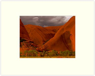Uluru IV by Louise Fahy