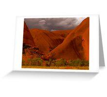 Uluru IV Greeting Card