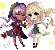 Children of Lunares - Yuelia and Noelia by misselysium