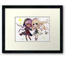 Children of Lunares - Yuelia and Noelia Framed Print