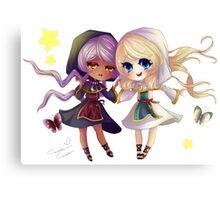 Children of Lunares - Yuelia and Noelia Canvas Print