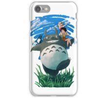 Natsu no Totoro iPhone Case/Skin
