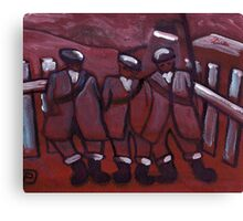 3 COAL MINERS Canvas Print