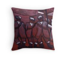 3 COAL MINERS Throw Pillow