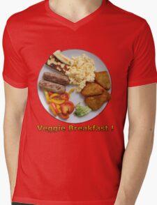 Veggie Breakfast Mens V-Neck T-Shirt