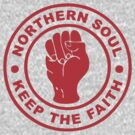 Northern Soul Badge by deerokone