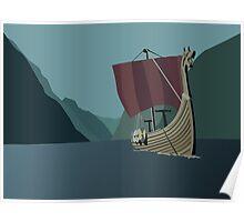 Vikings Minimalist Poster