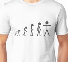 The Evolution of Stickman T-Shirt
