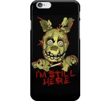 Five Nights At Freddy's Springtrap iPhone Case/Skin