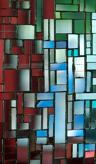 Multicoloured square 3 by Etienne RUGGERI Artwork eRAW