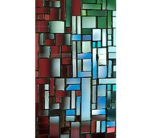 Multicoloured square 3 Photographic Print